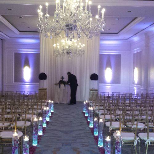 Wedding ceremony at Ritz Carlton Amelia Island - FL