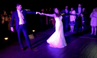 Beautiful wedding dance, by students Rajesh and Minnie!