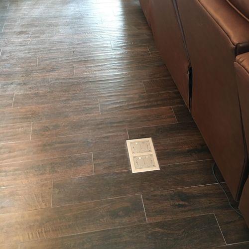 New floor plug