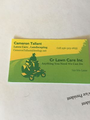 Avatar for Cr Lawn Care Huntsville, AL Thumbtack