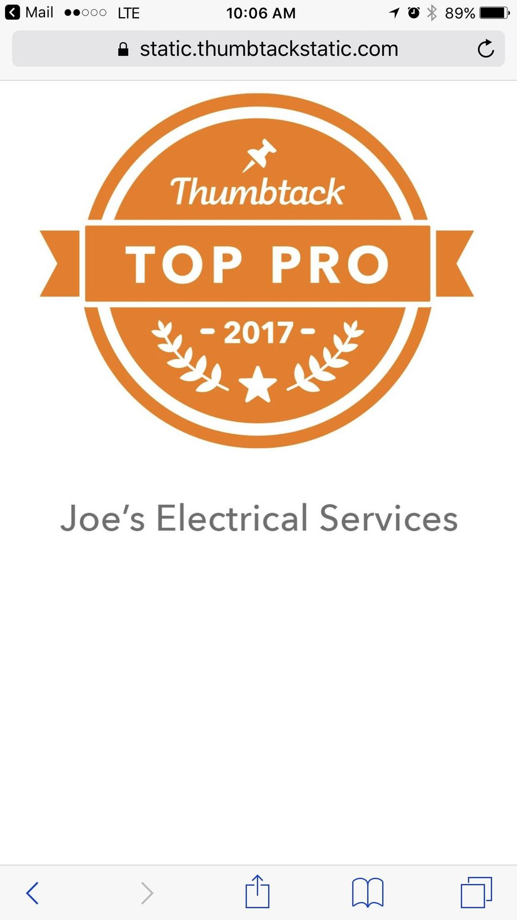 Joe's Electrical Services