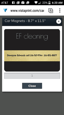 Avatar for EF Cleaning Cleveland, OH Thumbtack