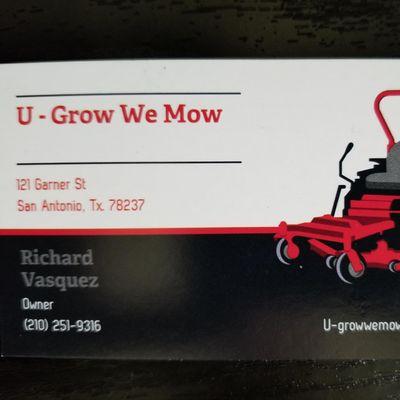 Avatar for U-Grow We Mow San Antonio, TX Thumbtack