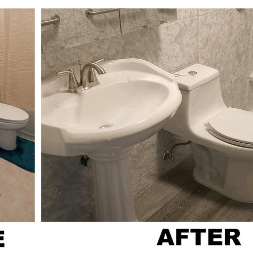 zero threshold customer shower