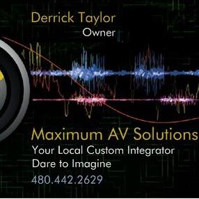 Avatar for Maximum AV Solutions Maricopa, AZ Thumbtack