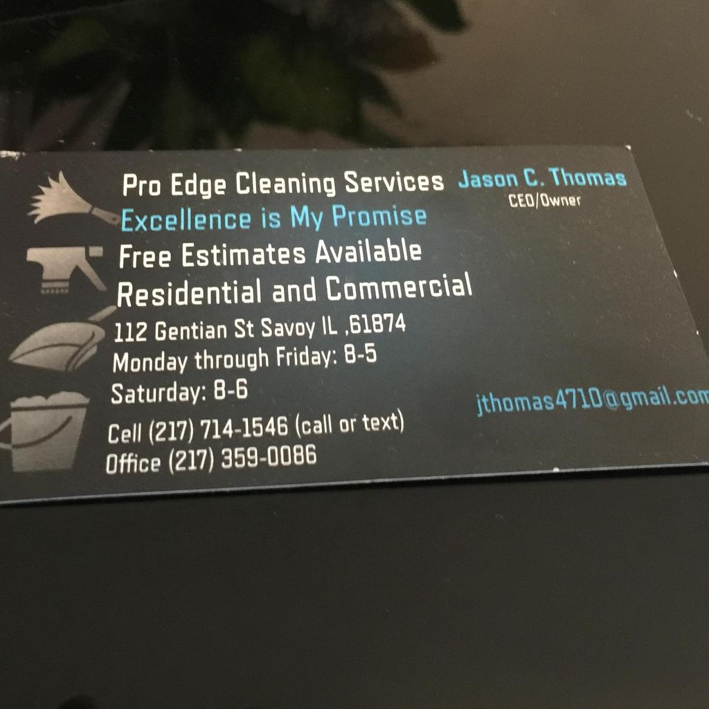 Proedge Cleaning Services Inc.