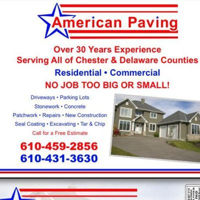 Avatar for American Paving & seal coating Garnet Valley, PA Thumbtack