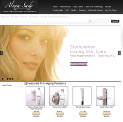 E-Commerce Website to meet the higher standards and sales volume www.alexasady.com