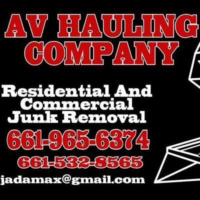 Avatar for AV Hauling Palmdale, CA Thumbtack