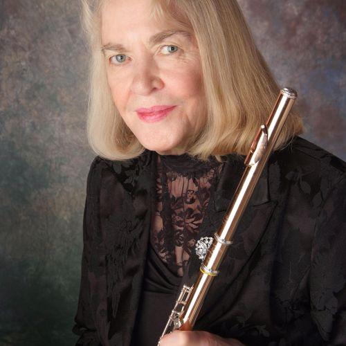 Flutist, and pianist, Elaine Eagle