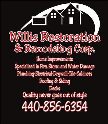 Avatar for Willis Restoration & Remodeling Corp