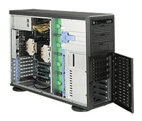 Super Micro Server with dual power supply built to order!