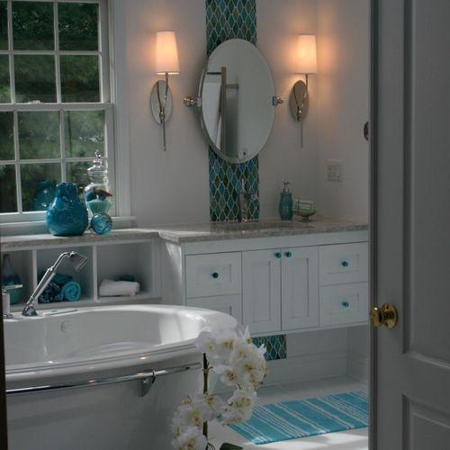 Take a peek inside this spa-like Master Bath!
