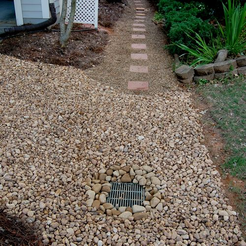 3-After: Drainage Problem solved! (John R.)
