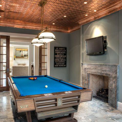 Sunderland - Pool Room