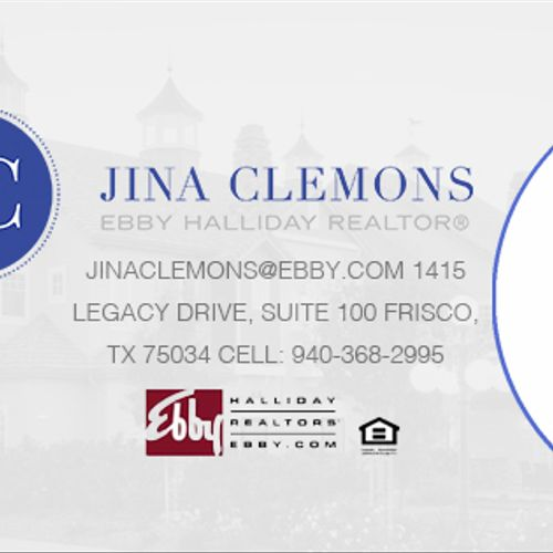 Facebook cover photo we designed for a realtor. We also gave her the brand she is now using.