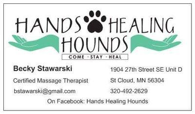 Avatar for Hands Healing Hounds Saint Cloud, MN Thumbtack