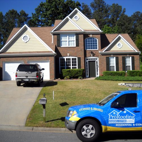 New Roof & Exterior Painting