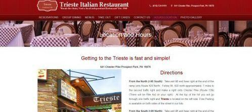 Trieste Italian Restaurant