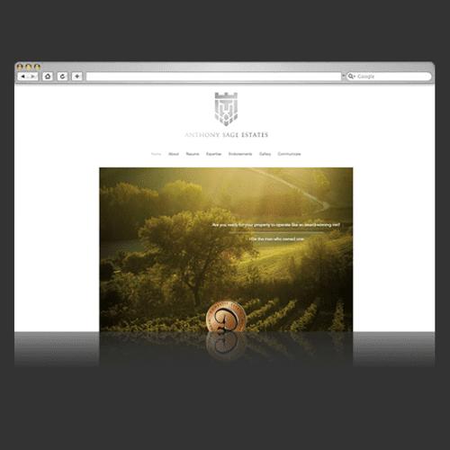 Website Design :: Anthony Sage