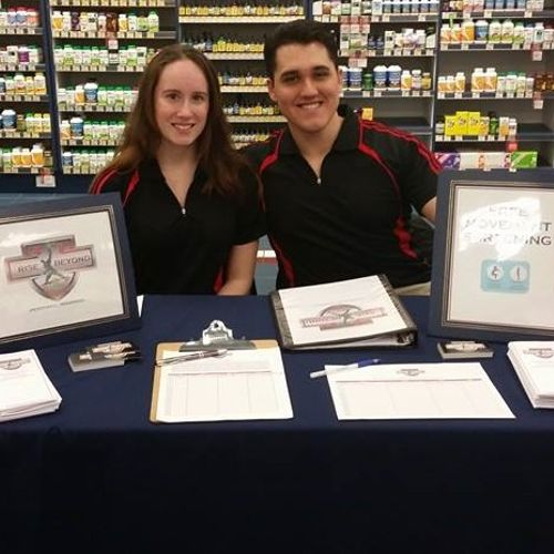 At the Community Health Fair at  the Vitamin Shoppe on Sand Lake road in Orlando, Fl.