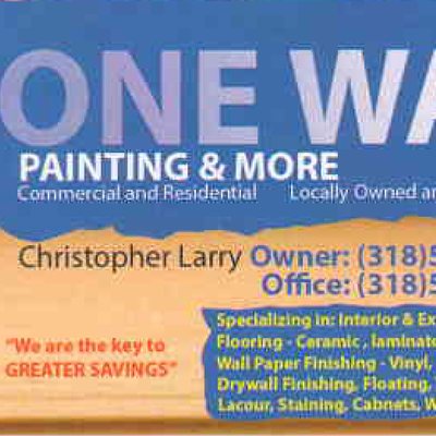Avatar for ONE WAY PAINTING & MORE Shreveport, LA Thumbtack