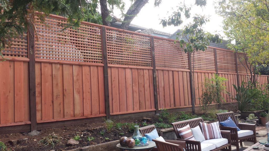 Ed's fence repairs