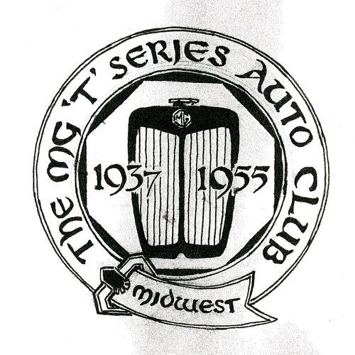 "Logo for the Midwest MG ""T"" Auto Club Kansas City, Missouri"