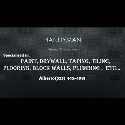 Avatar for Alberto's Painting, drywall and taping... and more Los Angeles, CA Thumbtack