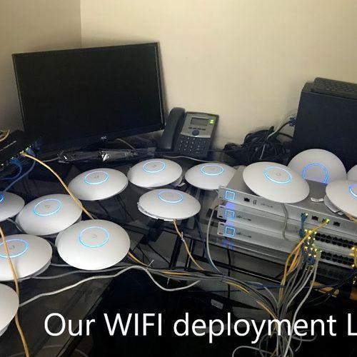 Our WIFI Deployment LAB