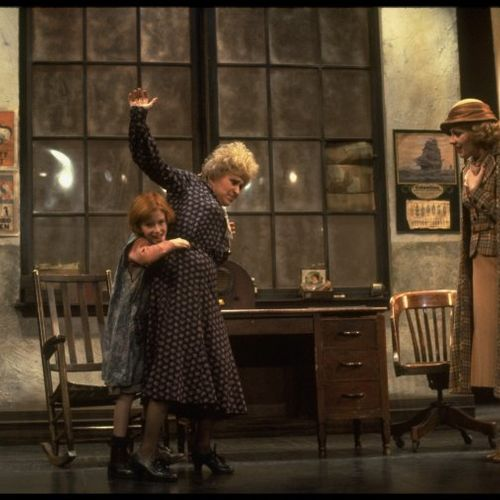 """""""Annie""""  Broadway with Allison Smith, Alice Ghostley & Mary B P"""