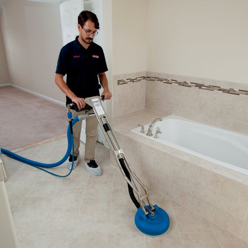 Tile & Grout cleaning is what we are best known for in the greater Fredericksburg area.