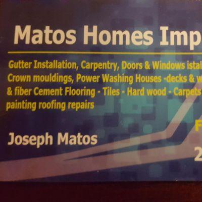 Avatar for Matos home improvement LLC