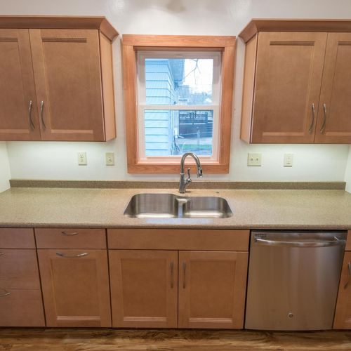 Remodel 1920's kitchen (same shot AFTER)
