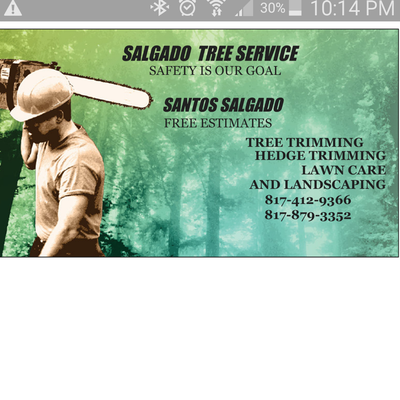 Avatar for salgado Tree Service Fort Worth, TX Thumbtack