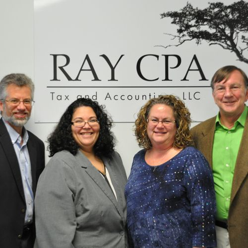 The Ray CPA team, helping you keep more of what you earn!