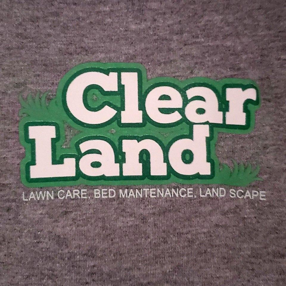 Clear Land lawn care & landscape.
