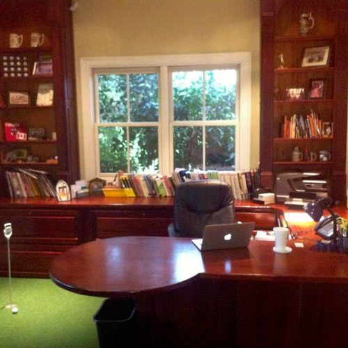 My office is in my home in Mandeville.