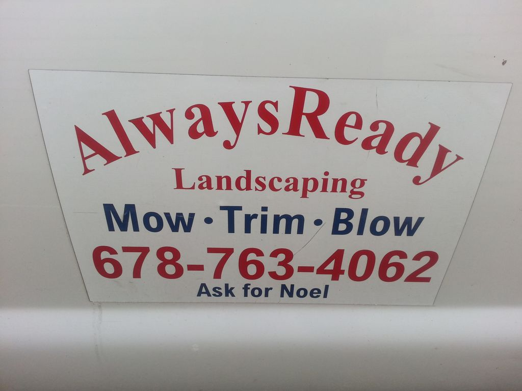 Always Ready Landscaping