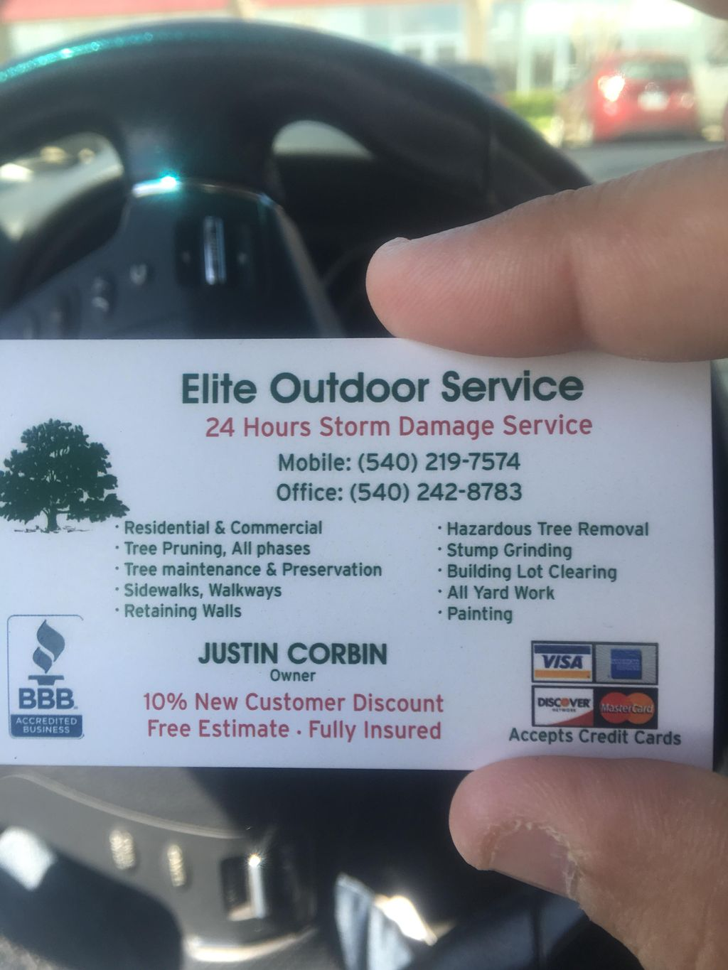 Elite Outdoor Services