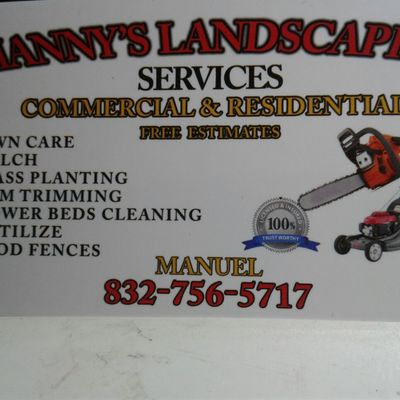 Avatar for MANNY'S TREE SERVICES