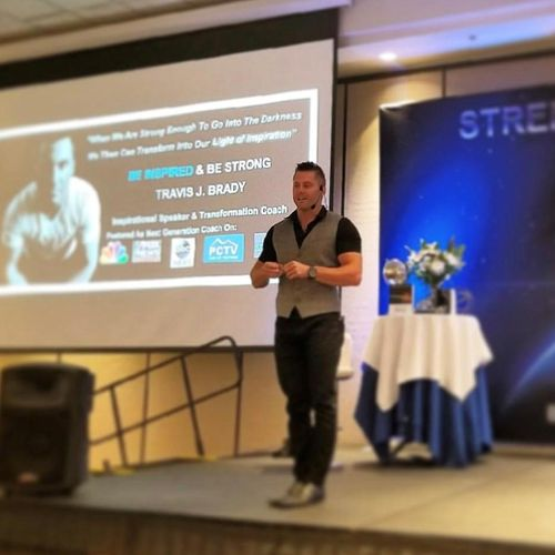 Travis Brady At His 2-Day Transformational Event