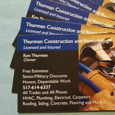 Avatar for Thurman Construction and Remodeling