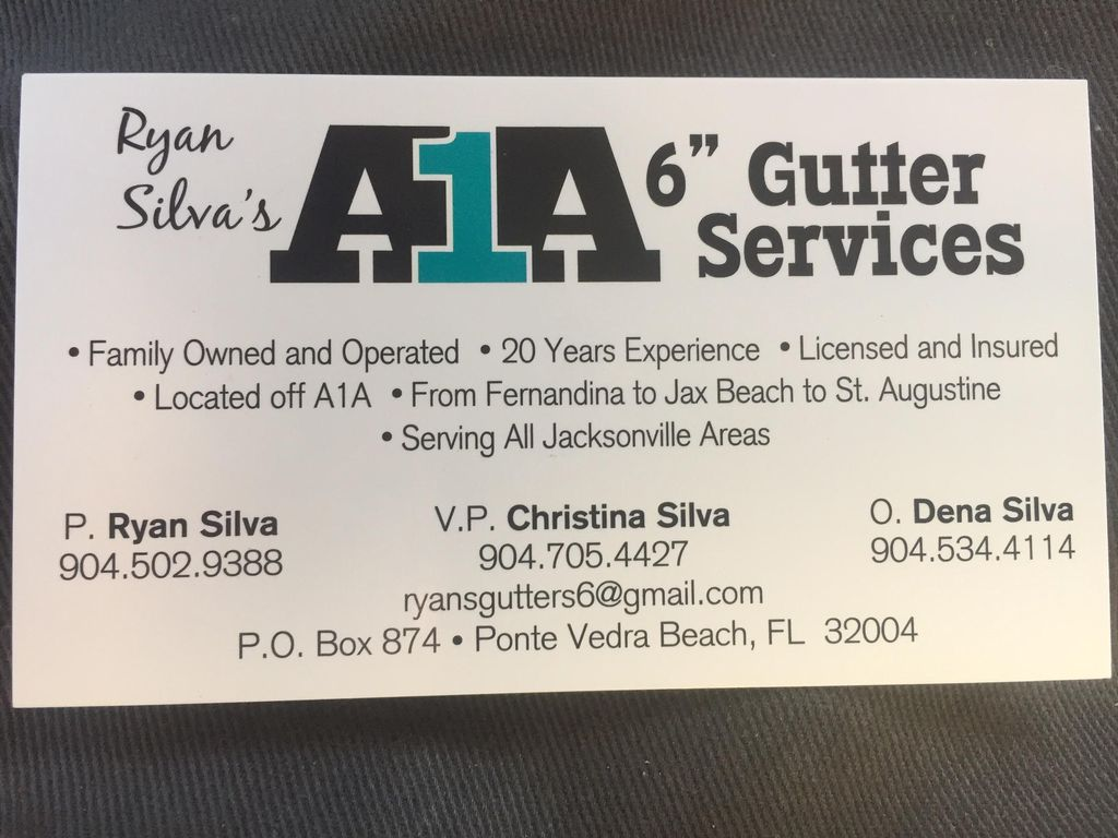 A1A Gutter Services