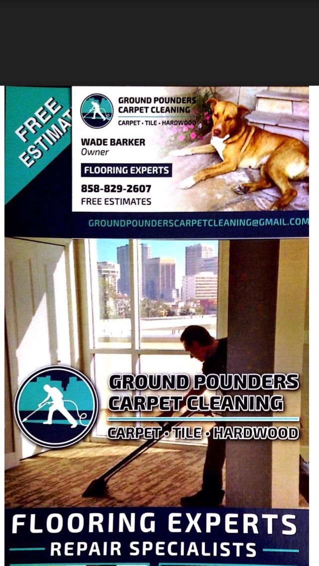 Ground Pounders Carpet Cleaning