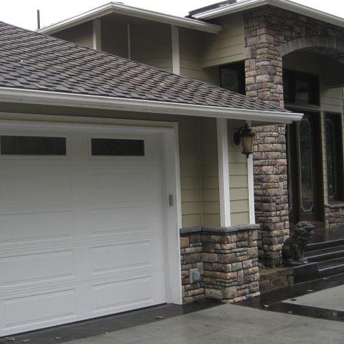Lake Steilacoom project Custom home