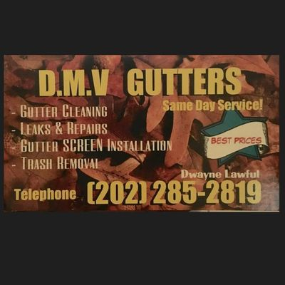 Avatar for DMV Gutters LLC