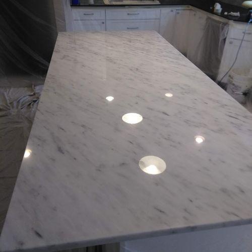 marble top rejuvenated
