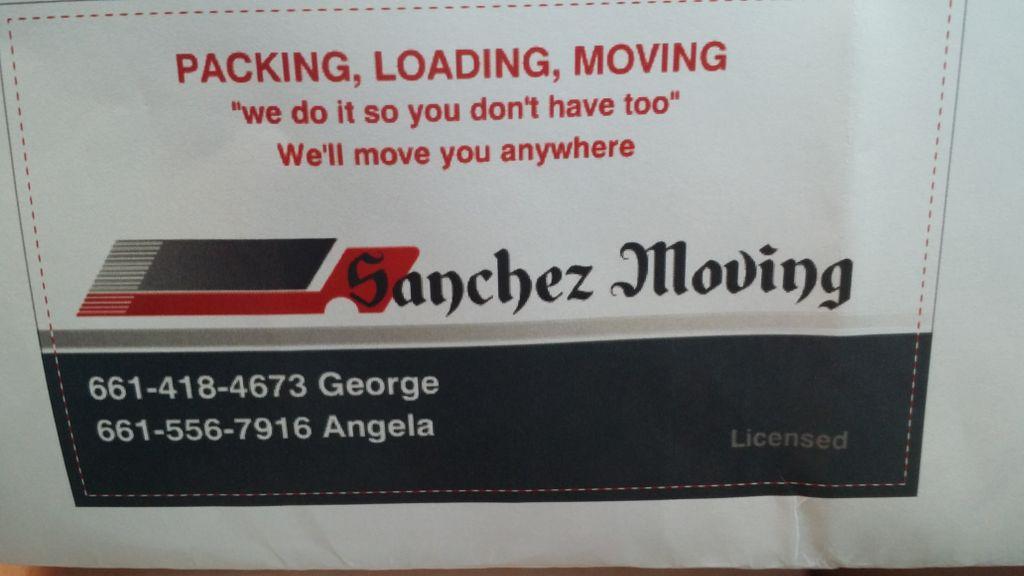 Sanchez Moving