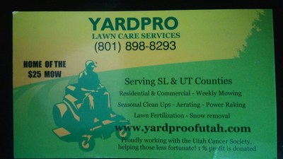 Avatar for Yard Pro South Jordan, UT Thumbtack
